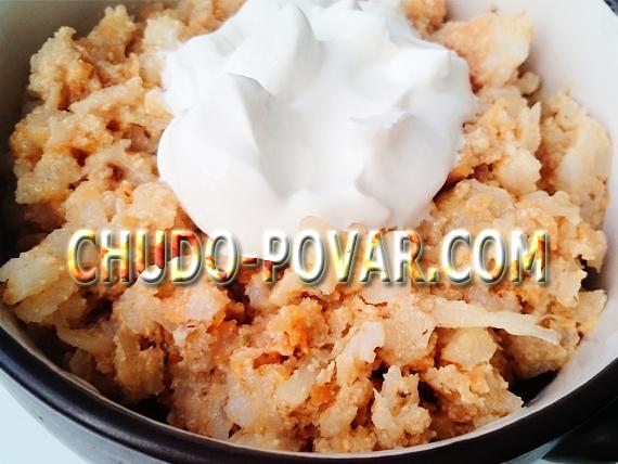 рецепты из риса и капусты с фаршем для мультиварки