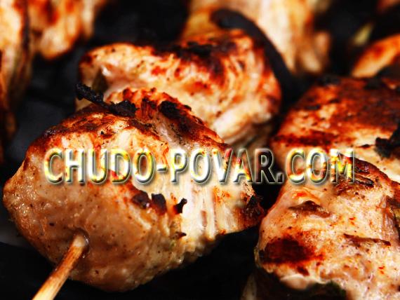 рецепт маринада для сочного шашлыка из курицы