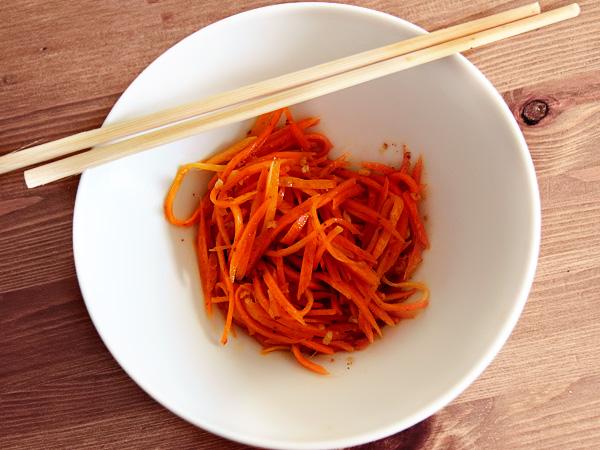корейская морковь: рецепт в домашних условиях быстро