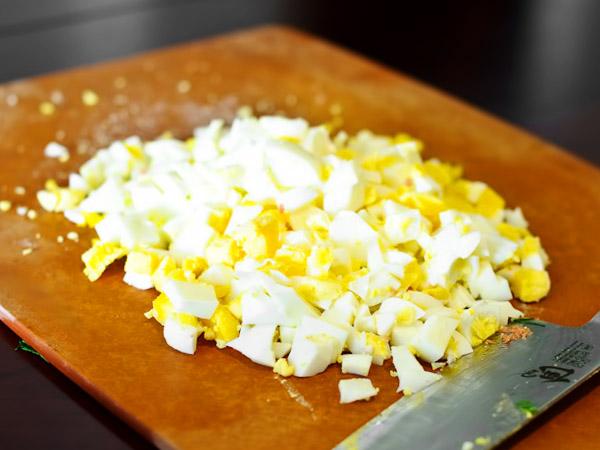 окрошка на кефире рецепт с фото