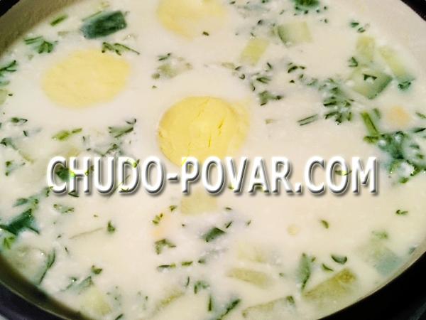 крем супы рецепты правильного питания
