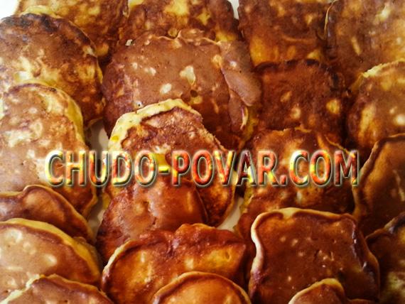 оладушки на кефире рецепт с фото