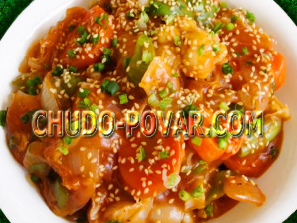 Овощное рагу с кабачками рецепт с курицей 135