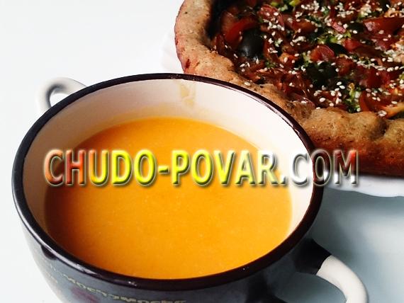 овощной суп пюре рецепт с фото
