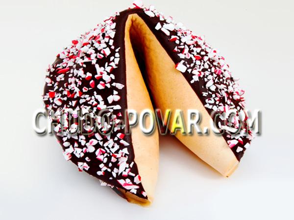 Печенье с пожеланиями на новый год рецепт