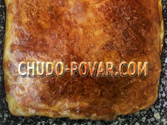 пирог с картошкой рецепт с фото