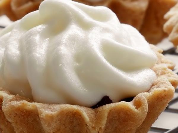 фото пирожное корзиночка с белковым кремом приготовление