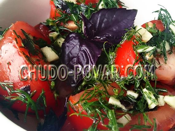 помидоры по корейски рецепт с фото