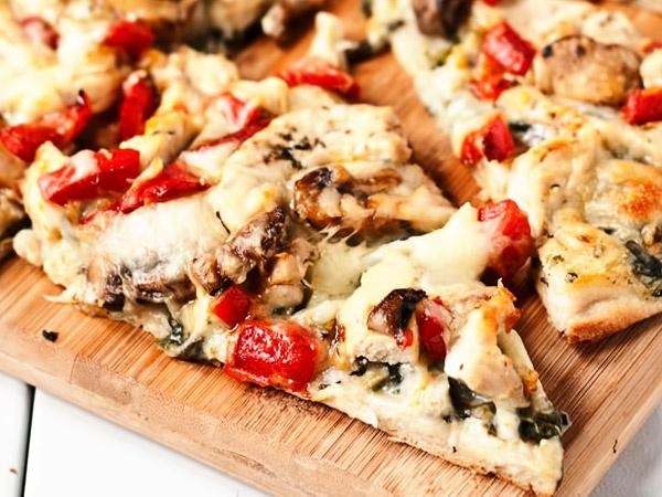 Тесто для пиццы без дрожжей - рецепт с фото