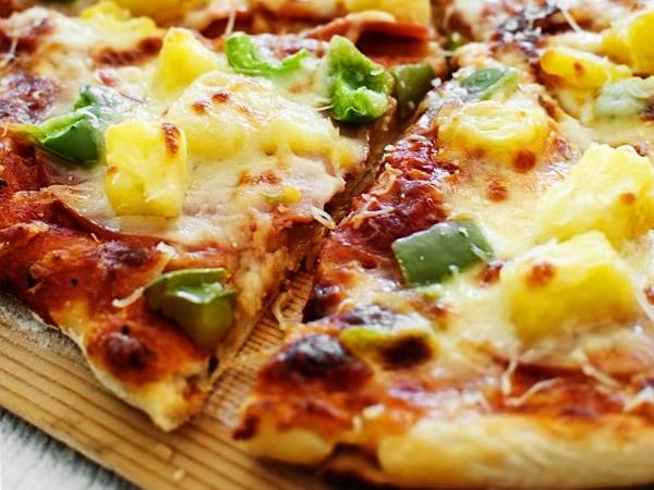 Тесто для пиццы без дрожжей на кефире - рецепт с фото