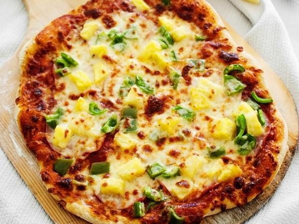 Тесто кефирное для пиццы без дрожжей - рецепт с фото
