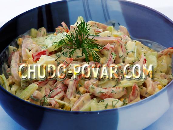 простые салаты рецепты с фото