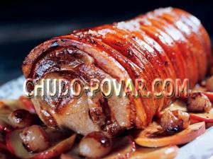 рулет из свинины