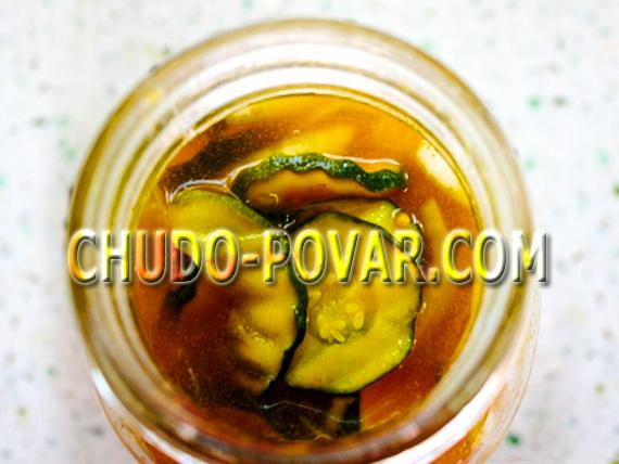 Салат из кабачков на зиму рецепт без стерилизации с фото