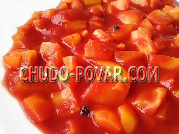 салат из перца на зиму рецепт с фото