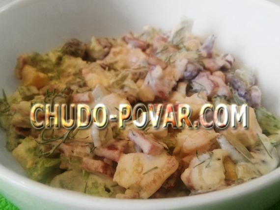 салат с фасоль рецепт с фото