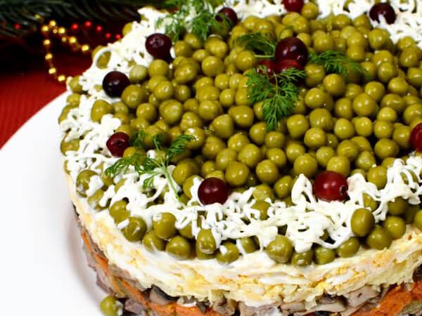 вкусные салаты на новый год 2019 рецепты с фото новые