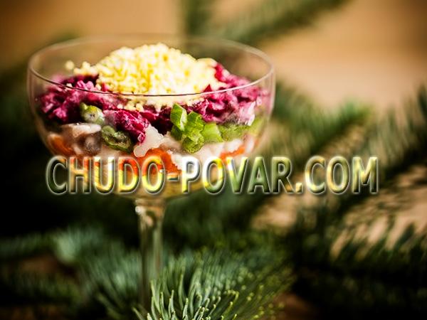 фото селёдка под шубой рецепт классический слои салата