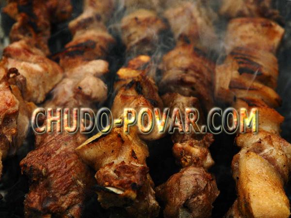 шашлык из свинины рецепт с фото