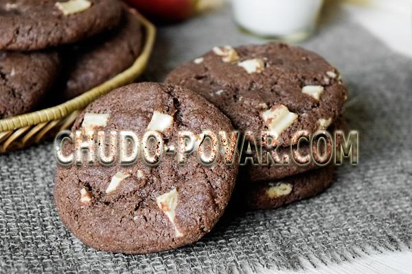 фото печенье с кусочками шоколада рецепт пошагово