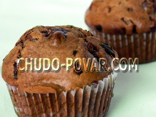 шоколадные маффины рецепт фото