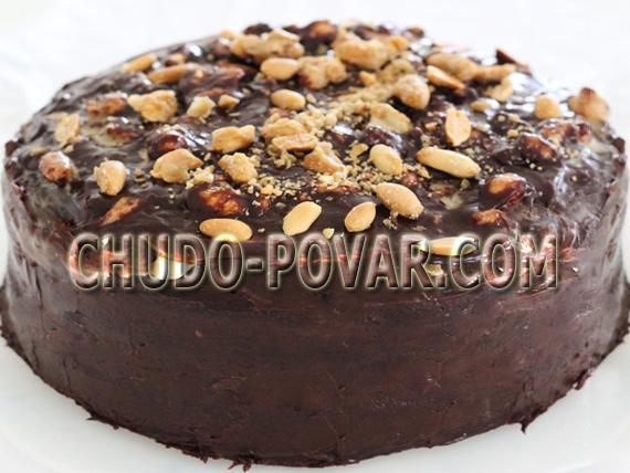 торт сникерс традиционный рецепт