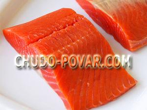 Как солить морскую красную рыбу в домашних условиях