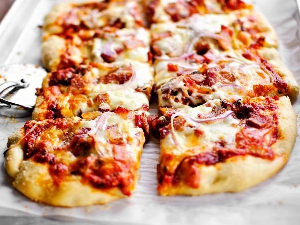 Рецепт настоящей пиццы соусы ингредиенты
