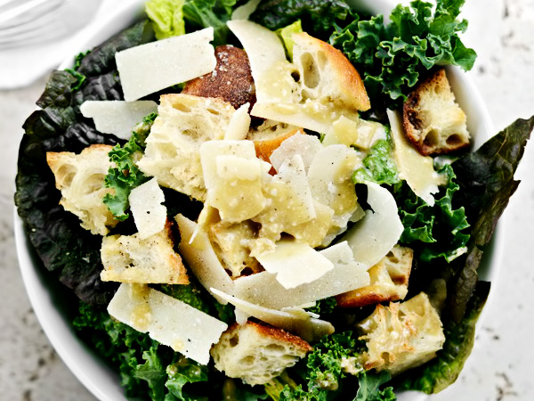 рецепт салата цезарь без яиц