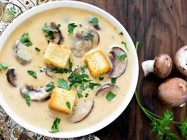 рецепт супа с сыром плавленным и мясом