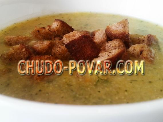 рецепт крем супа без бульона