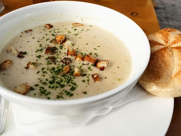 печеночный суп пюре