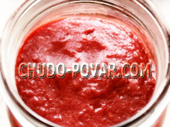 рецепт томатной пасты в домашних условиях в мультиварке
