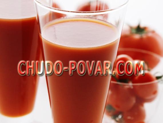томатный сок на зиму рецепт с фото