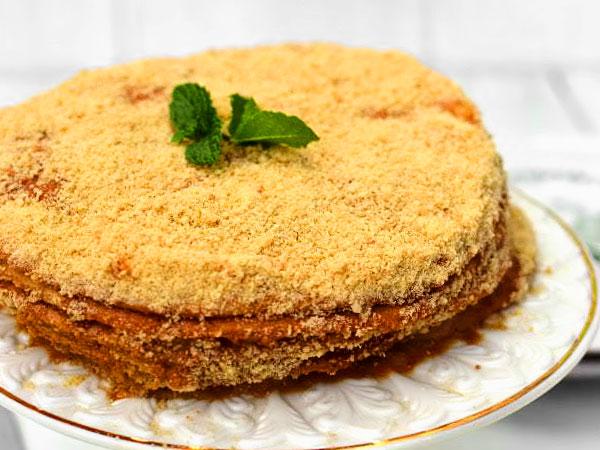 Ингредиенты для торта медовика