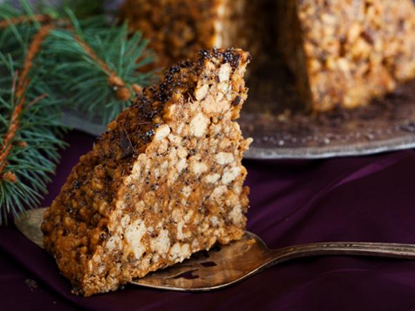 фото торт муравейник из печенья со сгущёнкой рецепт