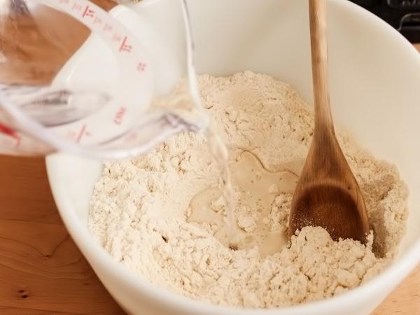 фото кукурузные лепёшки тортильяс рецепт шаг 1