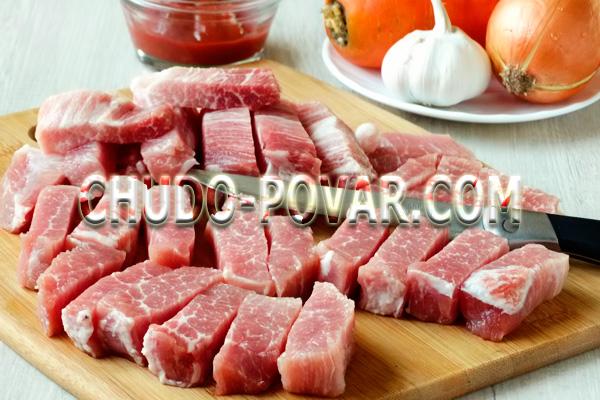 Как приготовить тушёную картошку с мясом