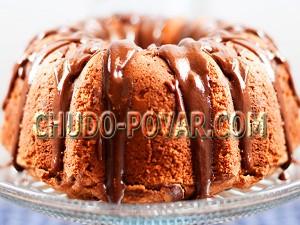творожный кекс с нутеллой