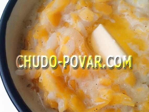 рецепт каши из тыквы с рисом и молоком на плите
