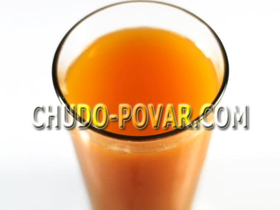 рецепт приготовления тыквенного сока в домашних условиях