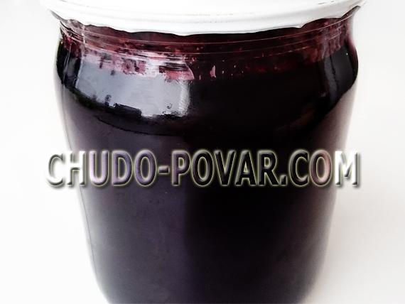 варенье из черноплодной рябины рецепт с фото