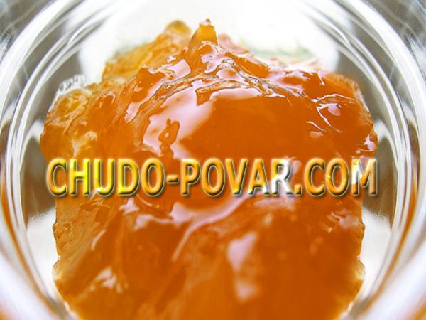 Варенье из кабачков и апельсина