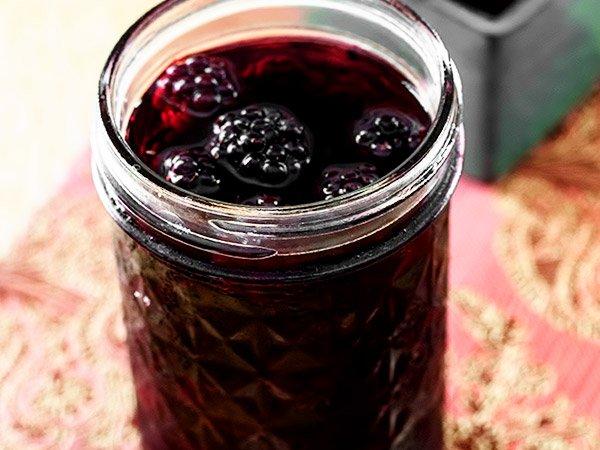 варенье из малины чёрной пятиминутка на зиму