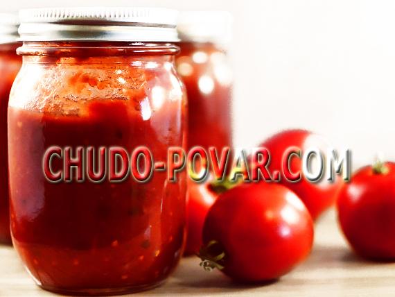 Заготовки из помидор на зиму рецепты с фото