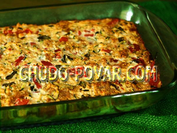 рецепт блюда запеканки с баклажанами