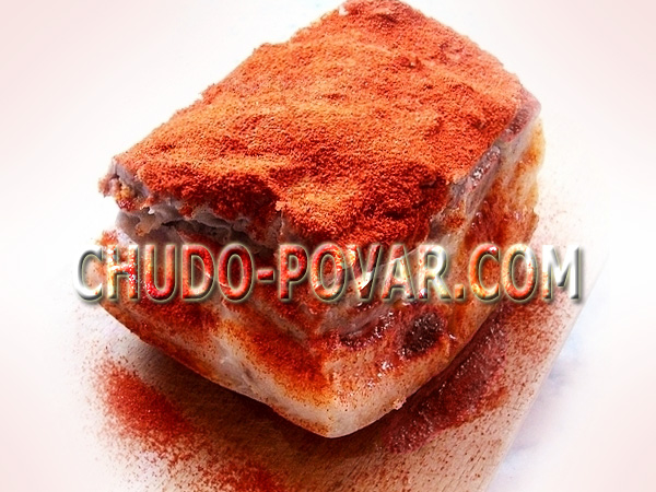 рецепт засолки сала соли