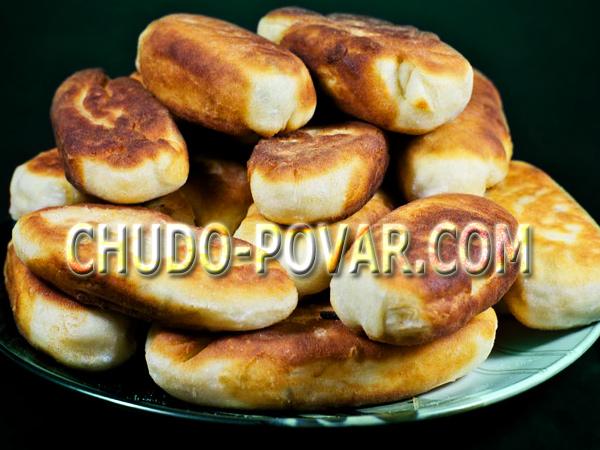 пирожки с капустой рецепт с фото