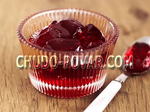 Желе из красной смородины рецепт с фото