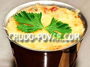 Рецепт приготовления жульена с курицей и грибами